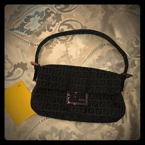 FENDI Zucca small shoulder bag 100% authentic